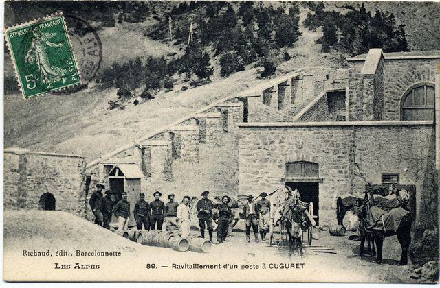 Ravitaillement en 1900